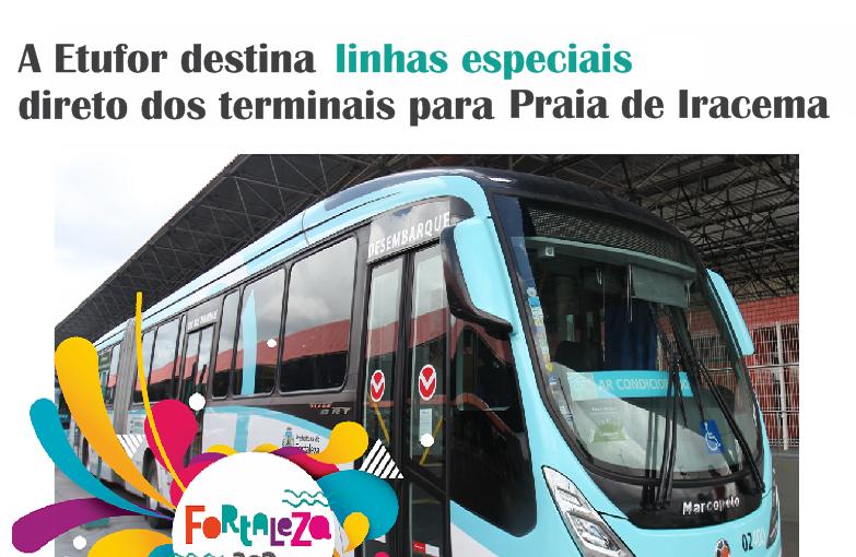 Aniversário de Fortaleza contará com operação especial de mobilidade