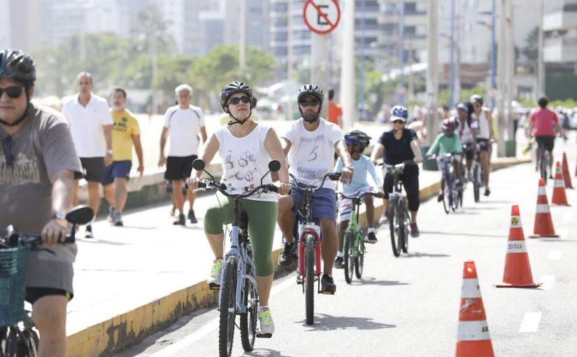 Prefeitura de Fortaleza implanta mais 6,7km de infraestrutura cicloviária
