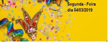Segunda – Feira de Carnaval